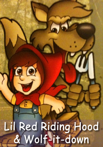 Lil Red Riding Hood Artwork
